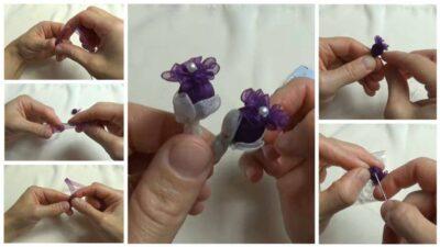 Kurdeleden Boncuklu Nar Çiçeği Oyası Yapımı
