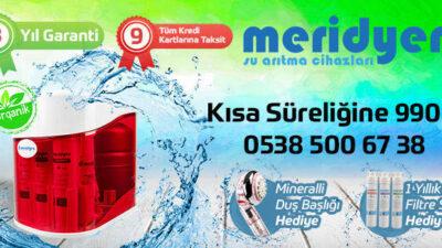 Türkiye'nin Tercihi Meridyen Su Arıtma En İyisi